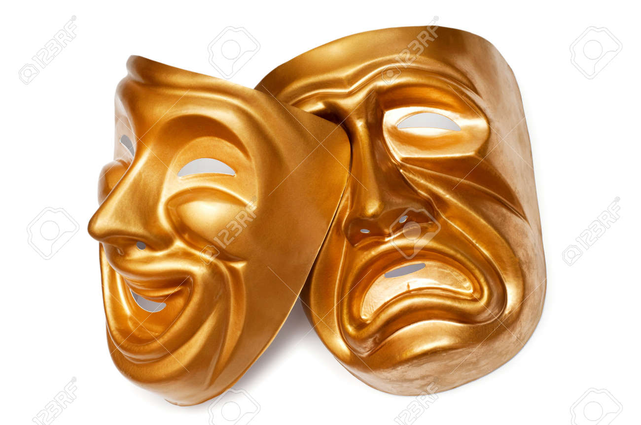 Masks with the theatre concept Stock Photo - 9589985