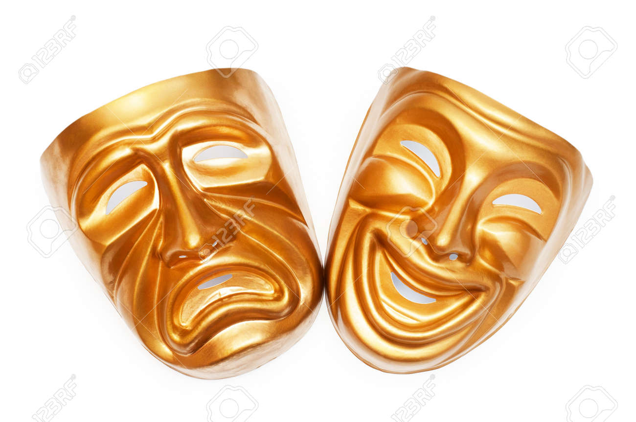 Masks with the theatre concept Stock Photo - 9715808