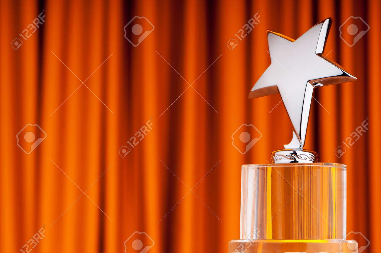 Star award against curtain background - 10289525