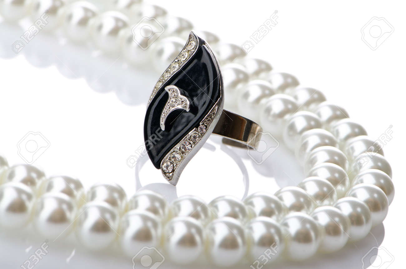Selection of many precious rings Stock Photo - 10616204