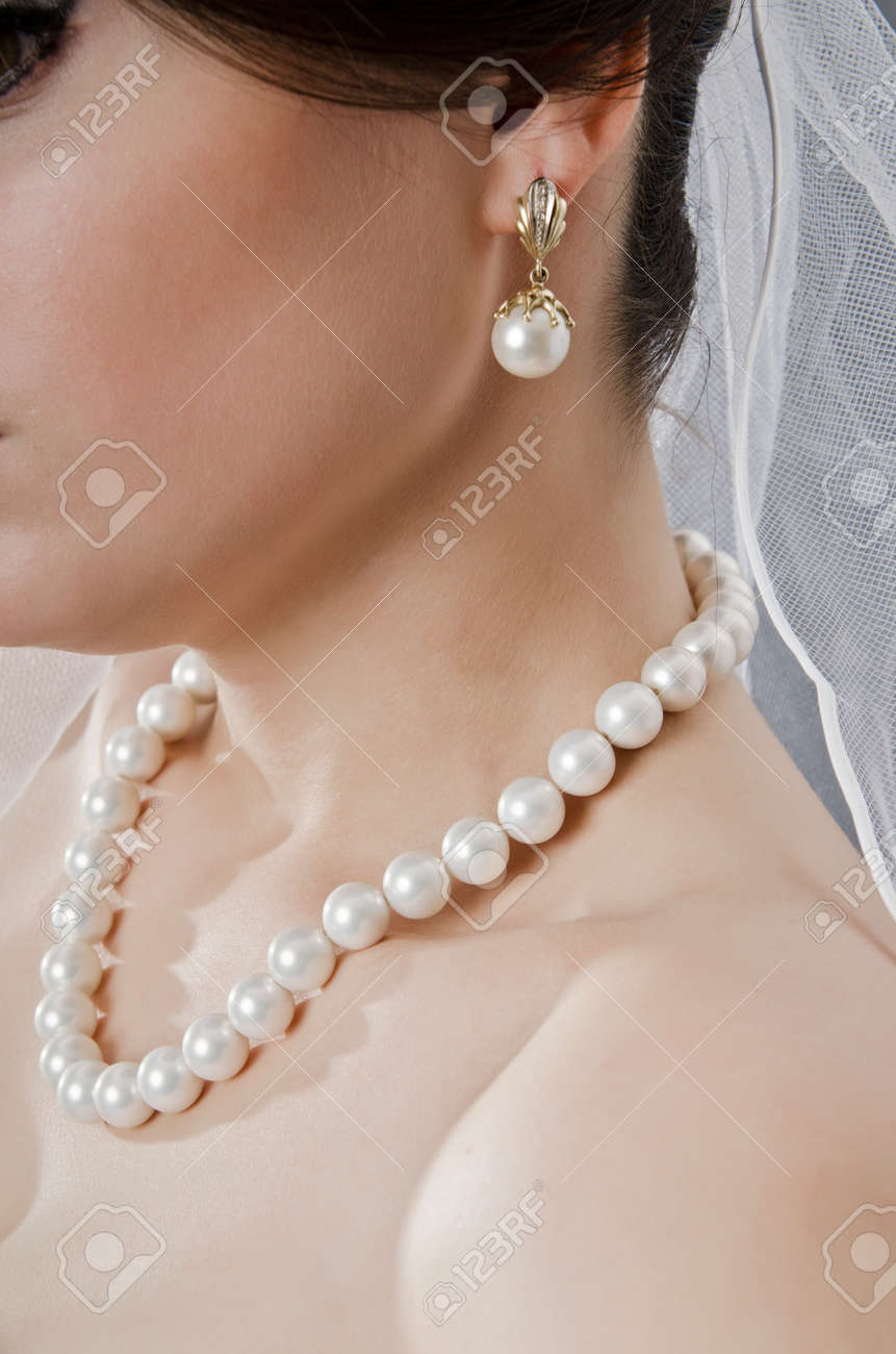 Bride in wedding dress in studio shooting Stock Photo - 12516712