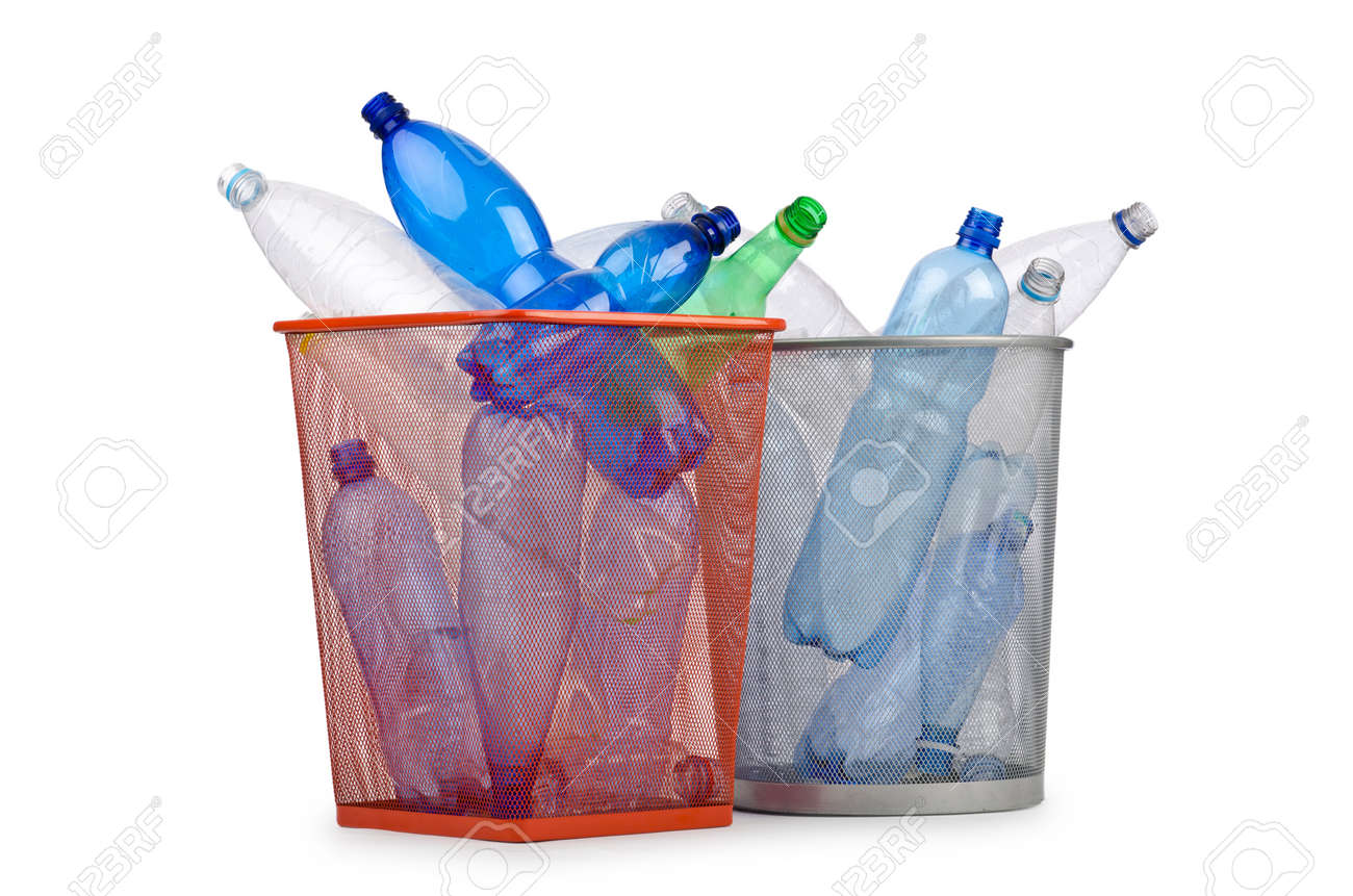 Plastic bottles in recycling concept Standard-Bild - 12531209