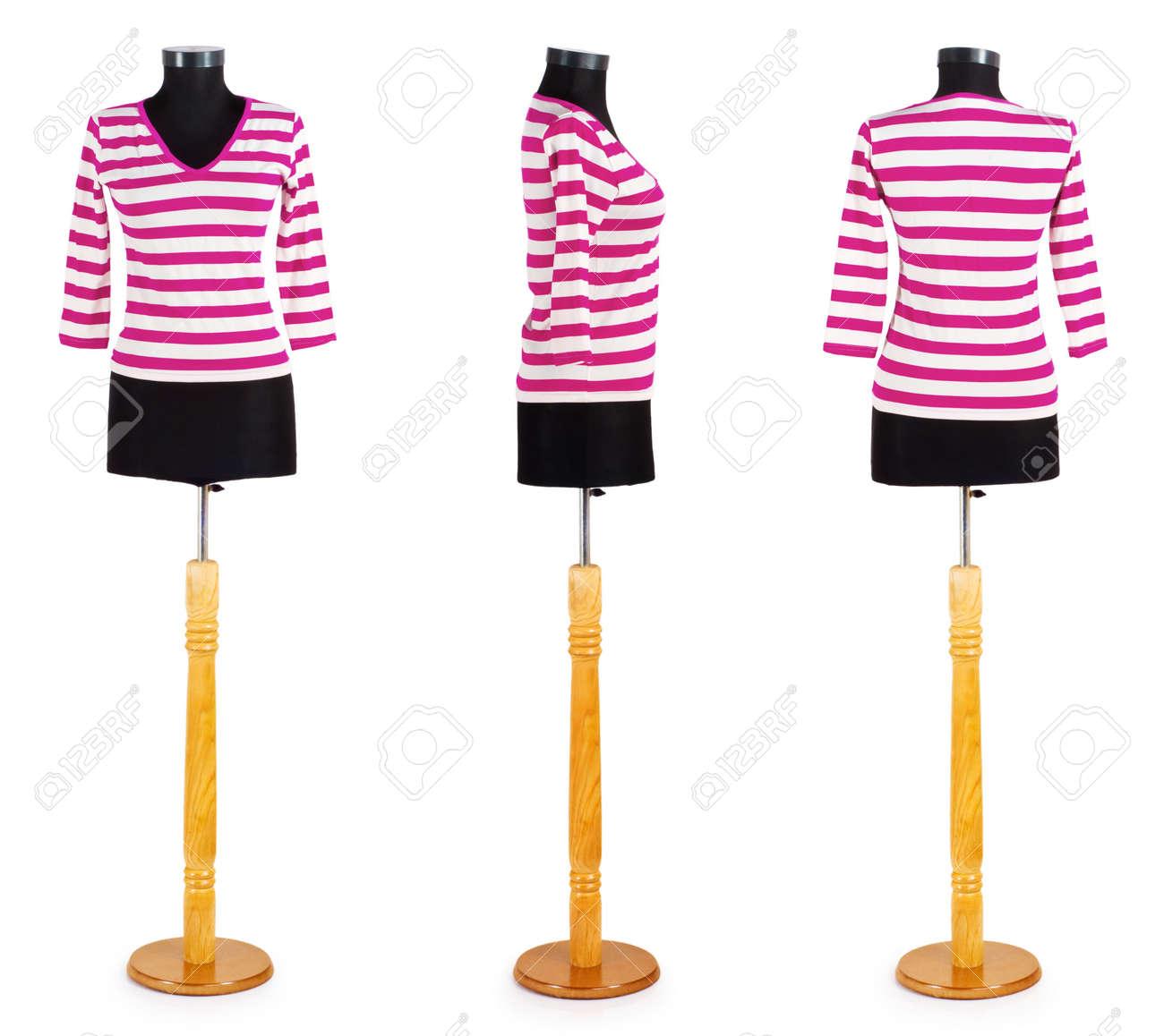 Stylish clothing isolated on the white background Stock Photo - 13012467