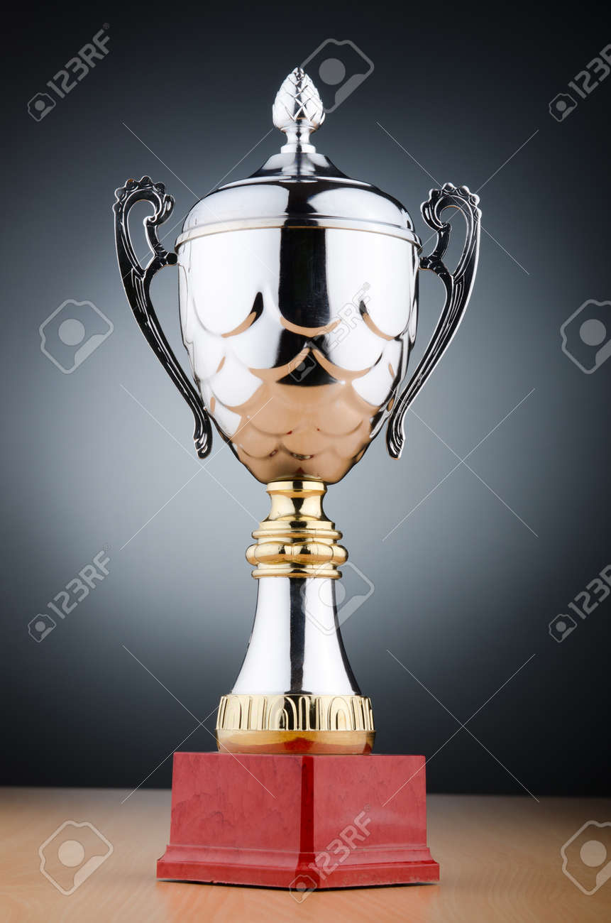 Prize cup against the background Stock Photo - 13588925
