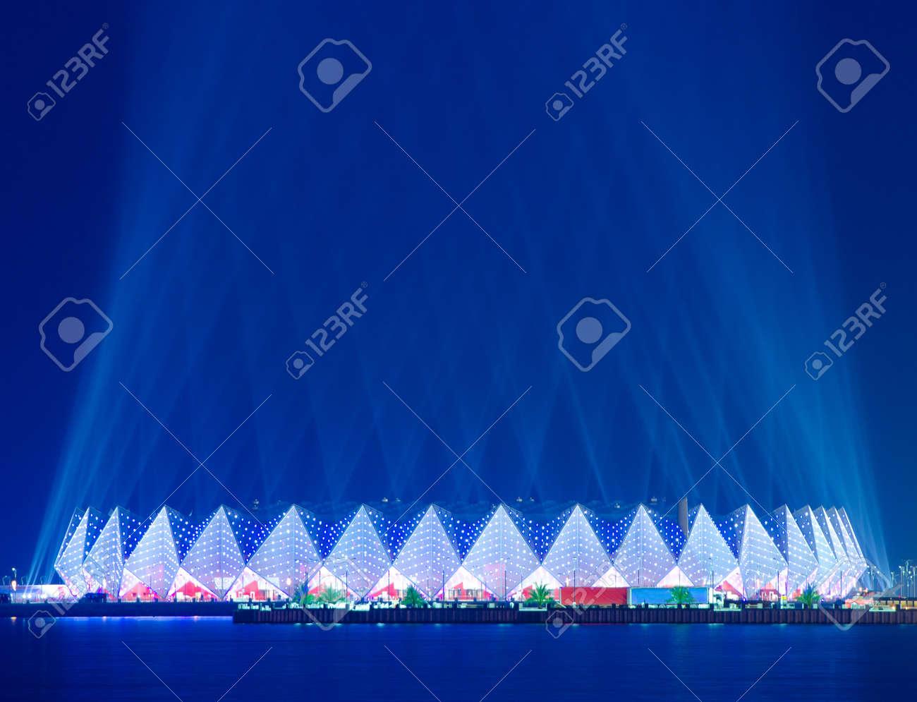 Crystal Hall - Eurovision 2012 venue Baku Azerbaijan Stock Photo - 13749458