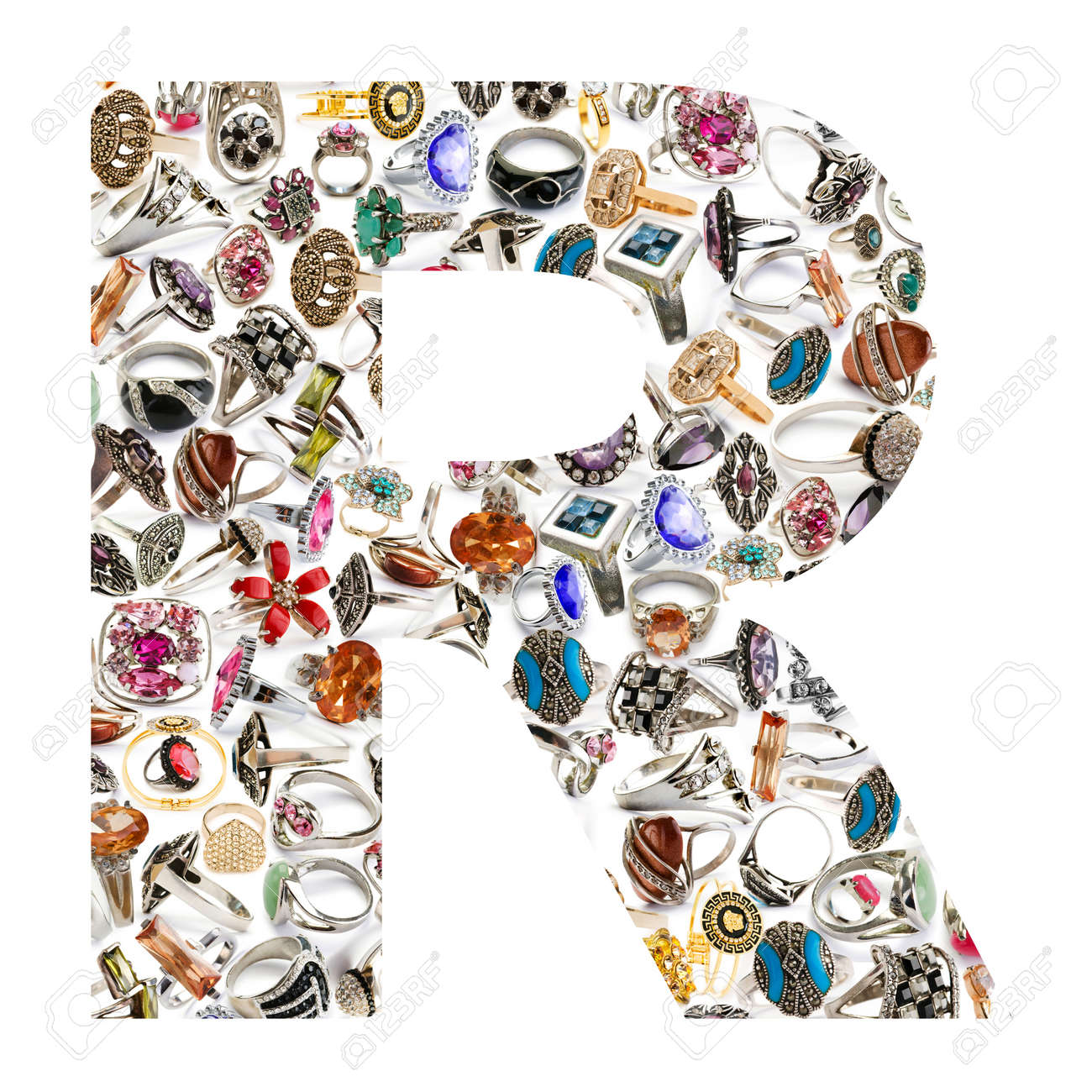 Alphabet made of letters Stock Photo - 14045629