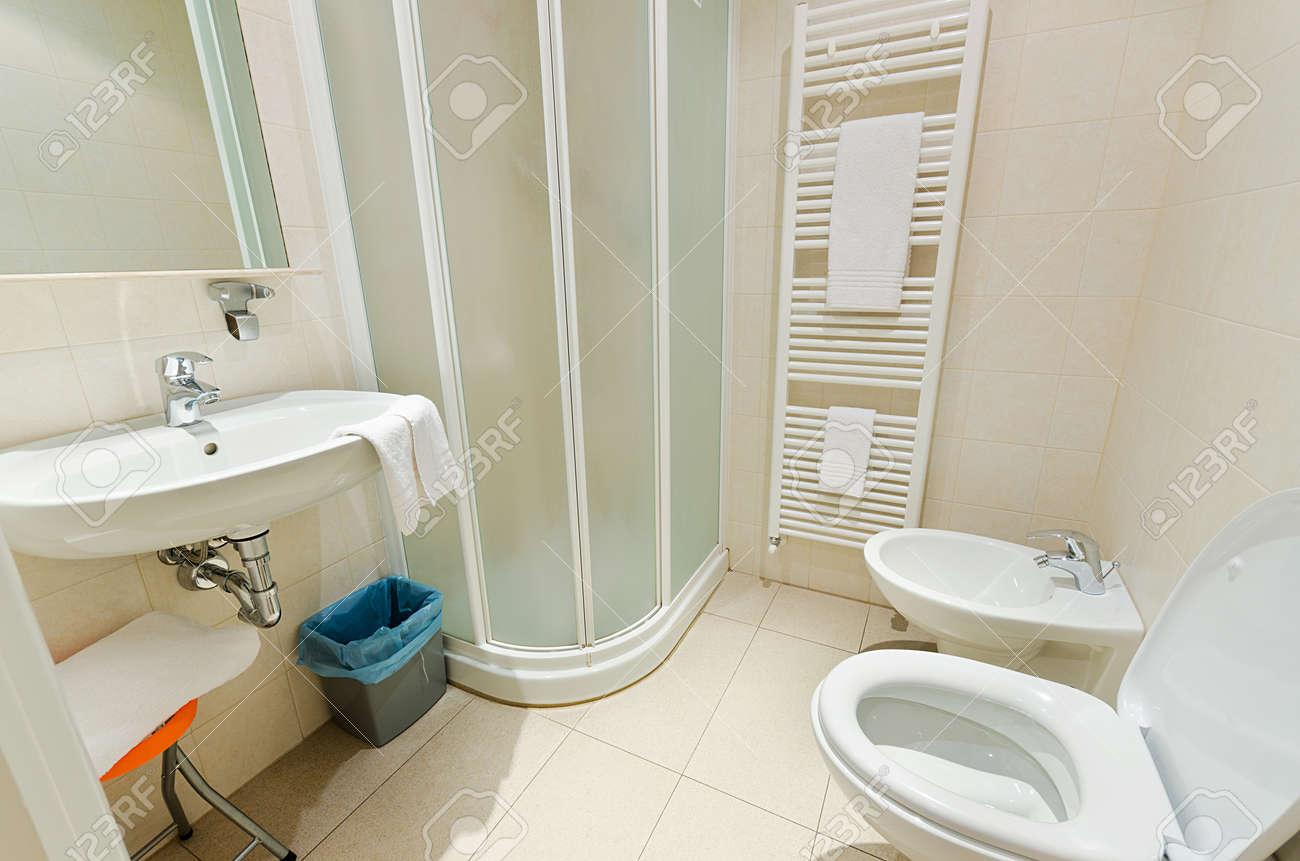 Toilet in the modern bathroom Stock Photo - 15754554