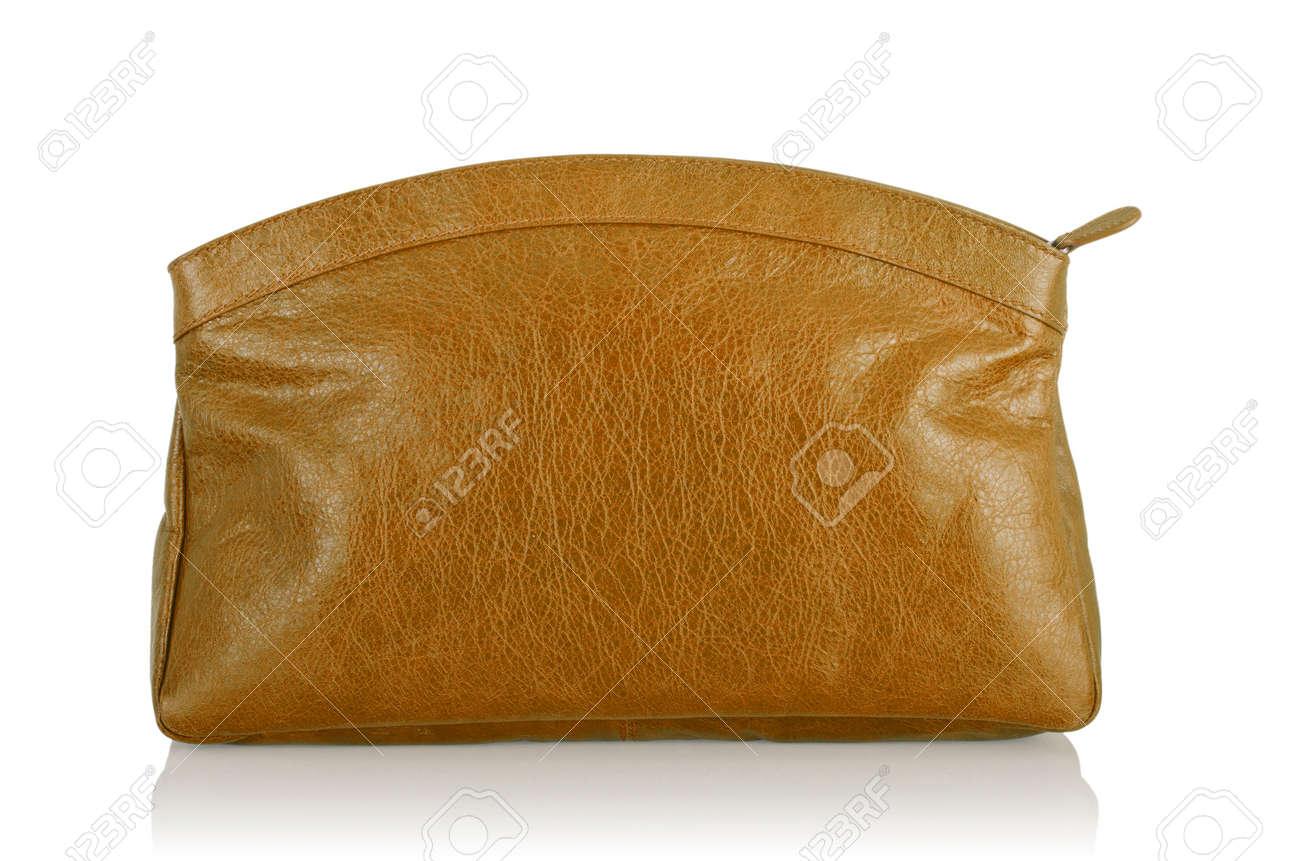 Elegant woman bag isolated on white Stock Photo - 16099970