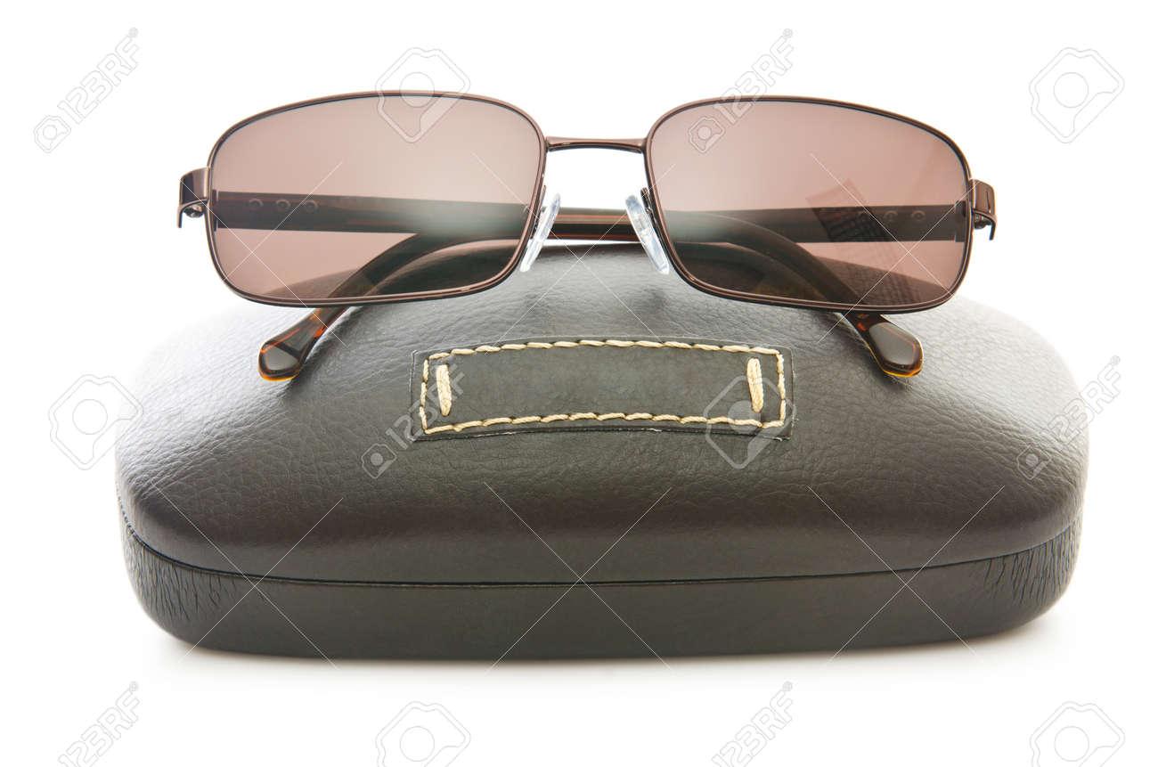 Stylish sunglasses isolated on the white Stock Photo - 16054945