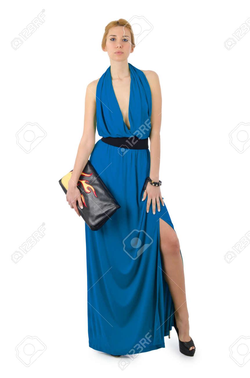 Attractive model in fashion concept Stock Photo - 16934054