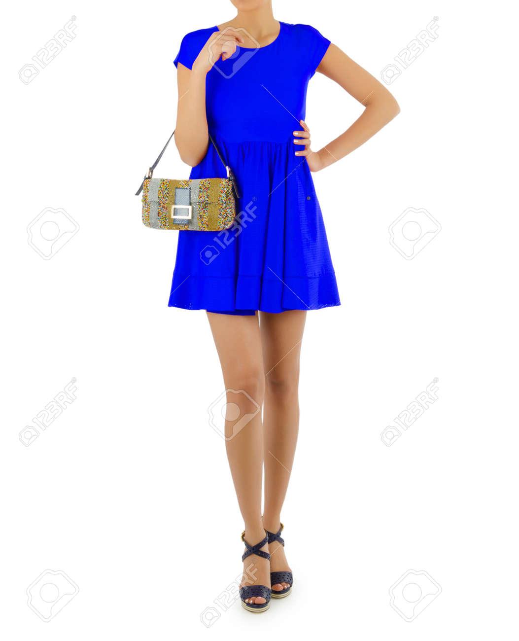 Attractive model in fashion concept Stock Photo - 15956088