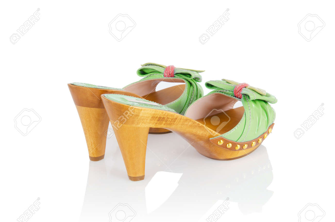Woman shoes isolated on white Stock Photo - 15963615