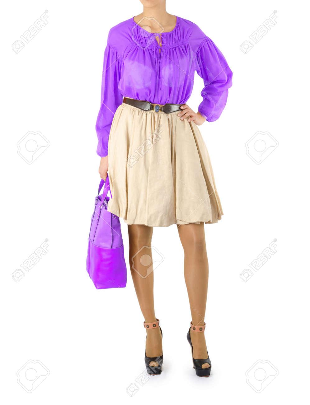 Attractive model in fashion concept Stock Photo - 16283194