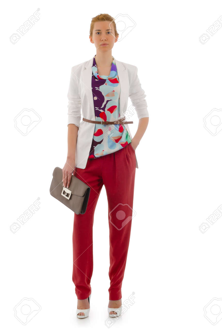 Attractive model in fashion concept Stock Photo - 16283600