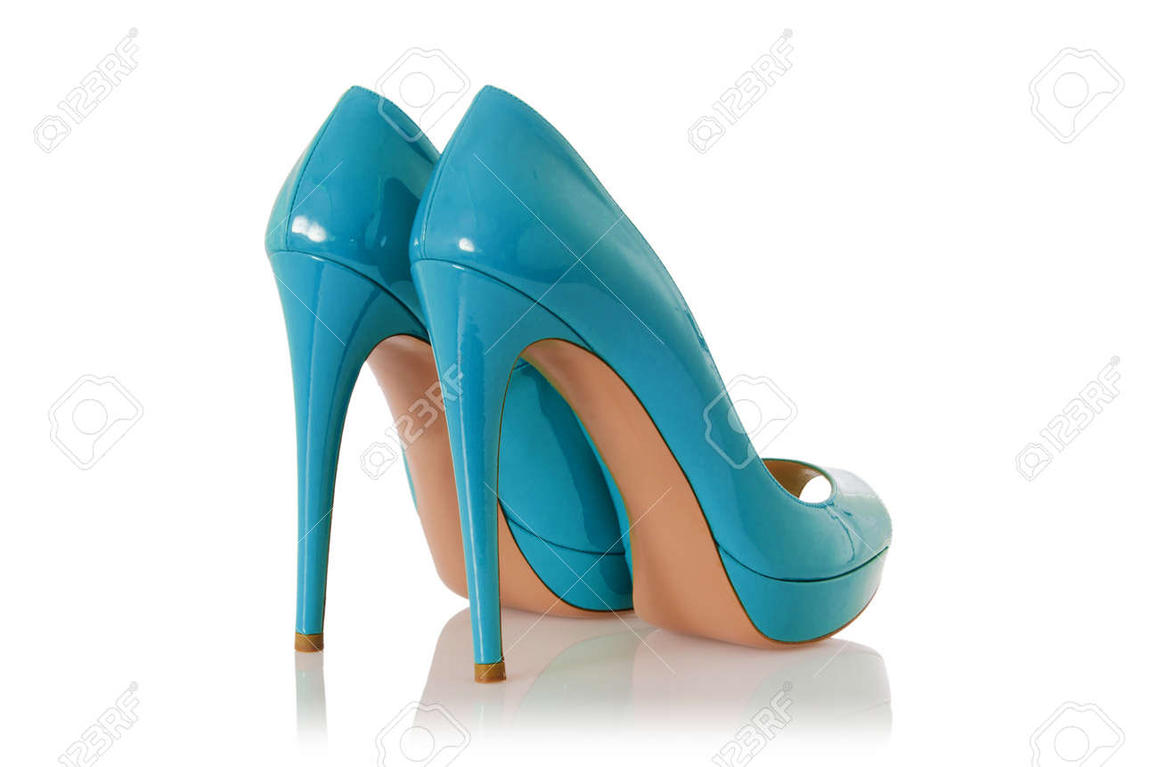 Woman shoes isolated on white Stock Photo - 16415169