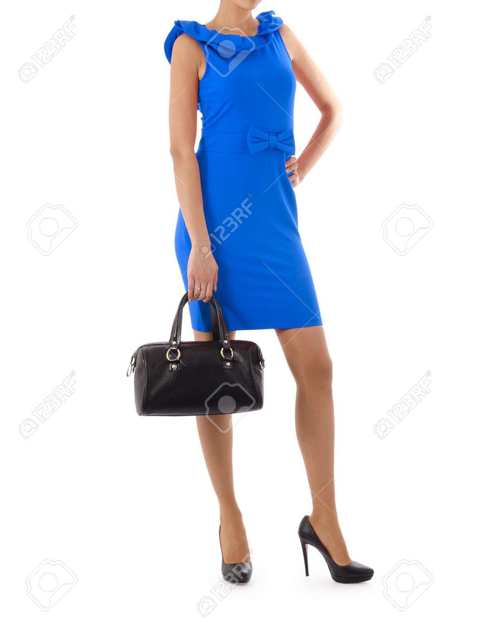 Attractive model in fashion concept Stock Photo - 16414911