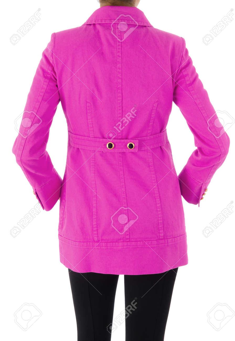 Stylish jacket isolated on model Stock Photo - 16415774