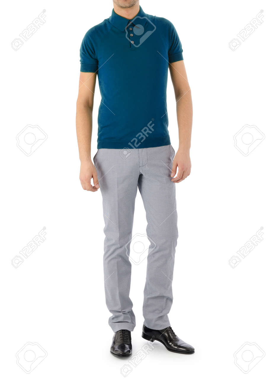 Male model in fashion concept Stock Photo - 16415318