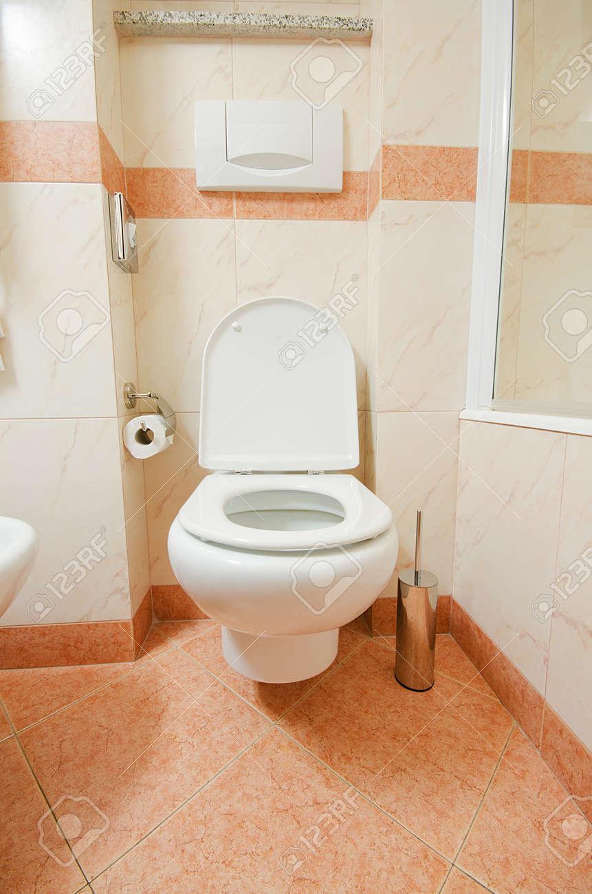 Toilet in the modern bathroom Stock Photo - 16835157