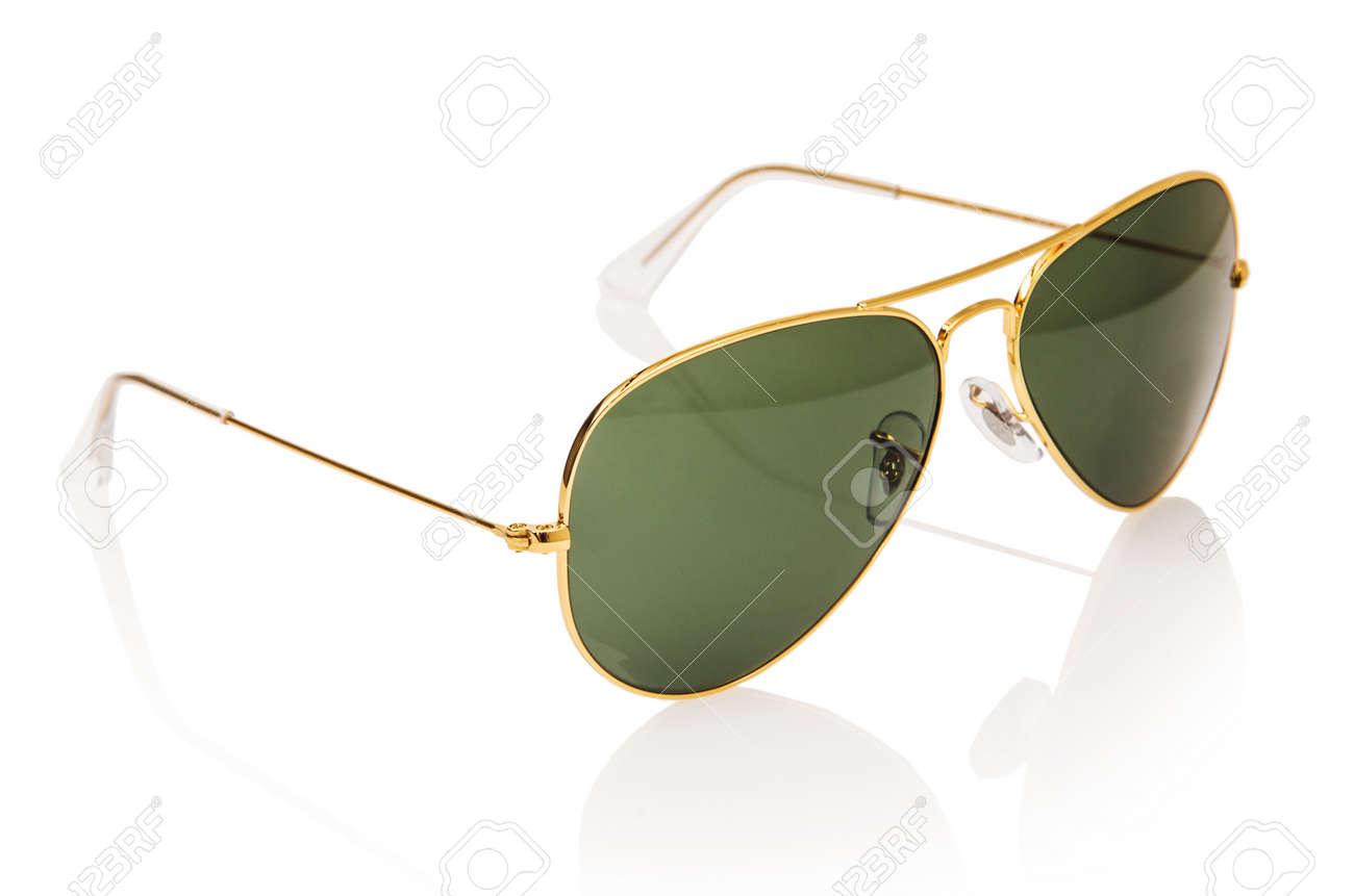 Elegant sunglasses isolated on the white Stock Photo - 16832555