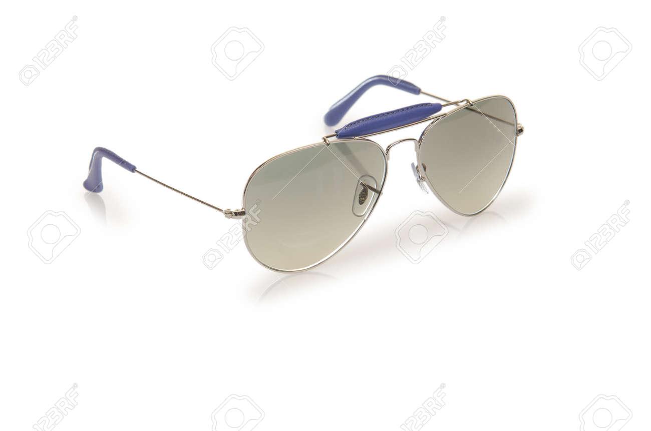 Elegant sunglasses isolated on the white Stock Photo - 16832154