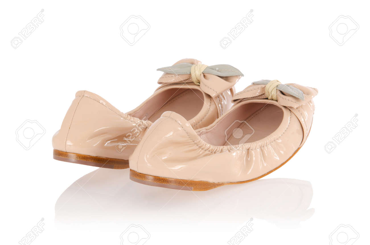 Ballet shoes in fashion concept Stock Photo - 16832566