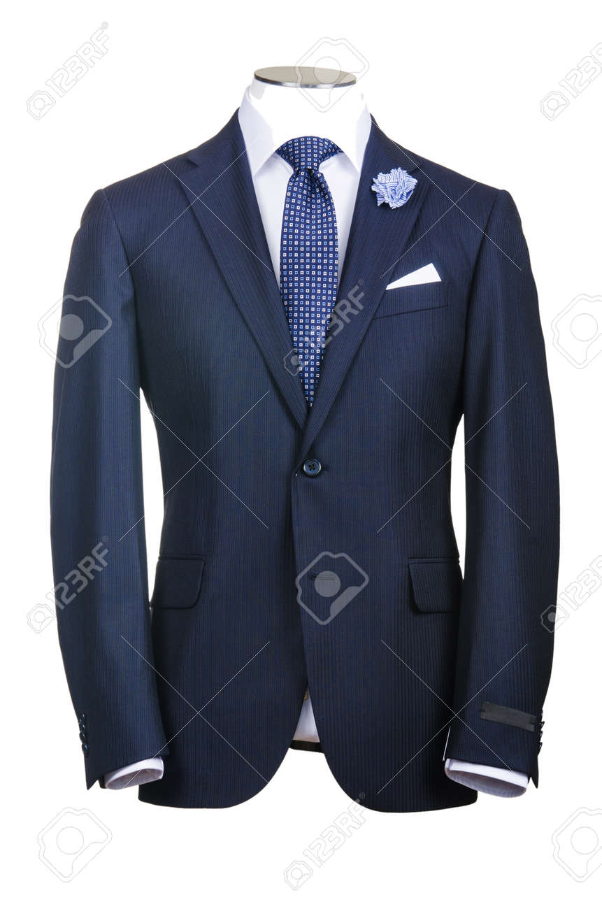 Formal suit in fashion concept - 16897910
