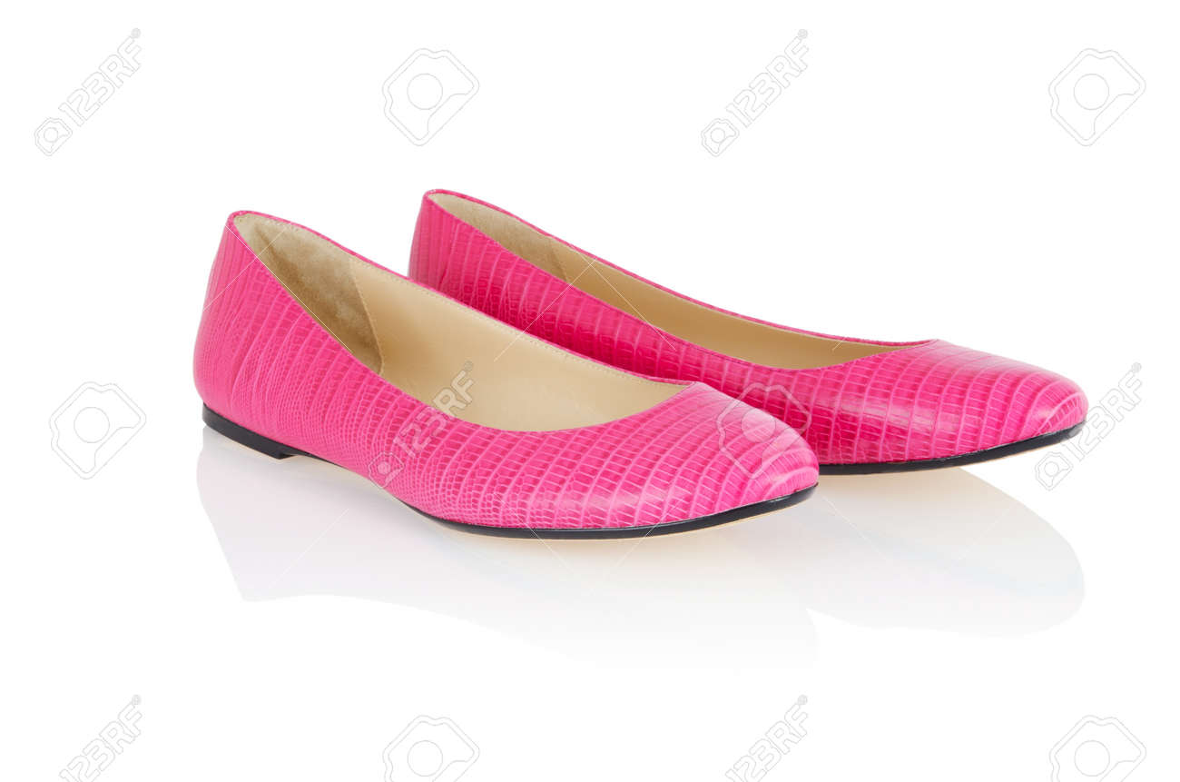 Ballet shoes in fashion concept Stock Photo - 16897296