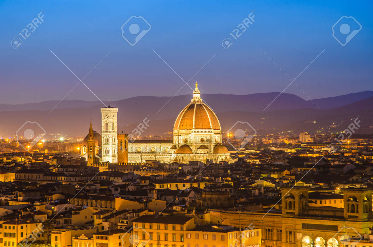 Duomo Cathedral in Florence, Italy Stock Photo - 17368778