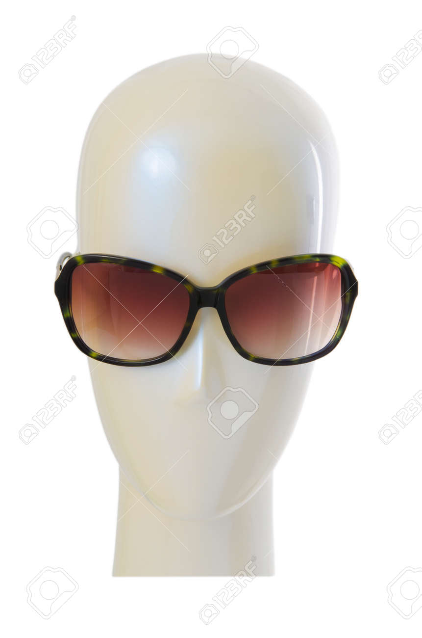Fashion concept with sunglasses on white Stock Photo - 17367083