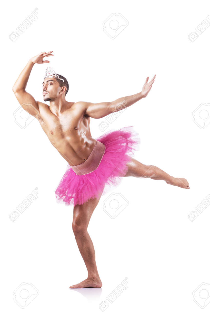Uncategorized Funny Ballet muscular ballet performer in funny concept stock photo picture 17412849
