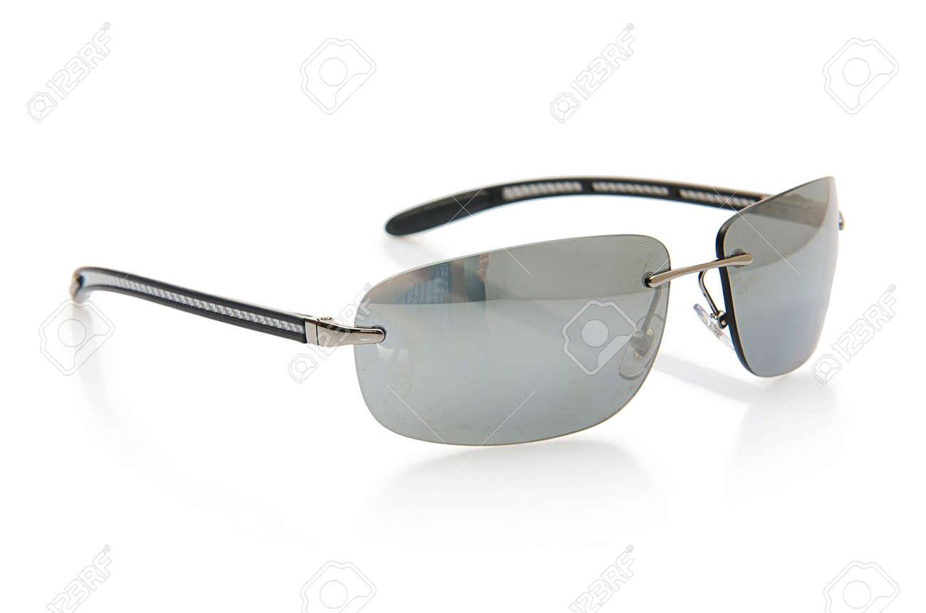 Elegant sunglasses isolated on the white Stock Photo - 18176975