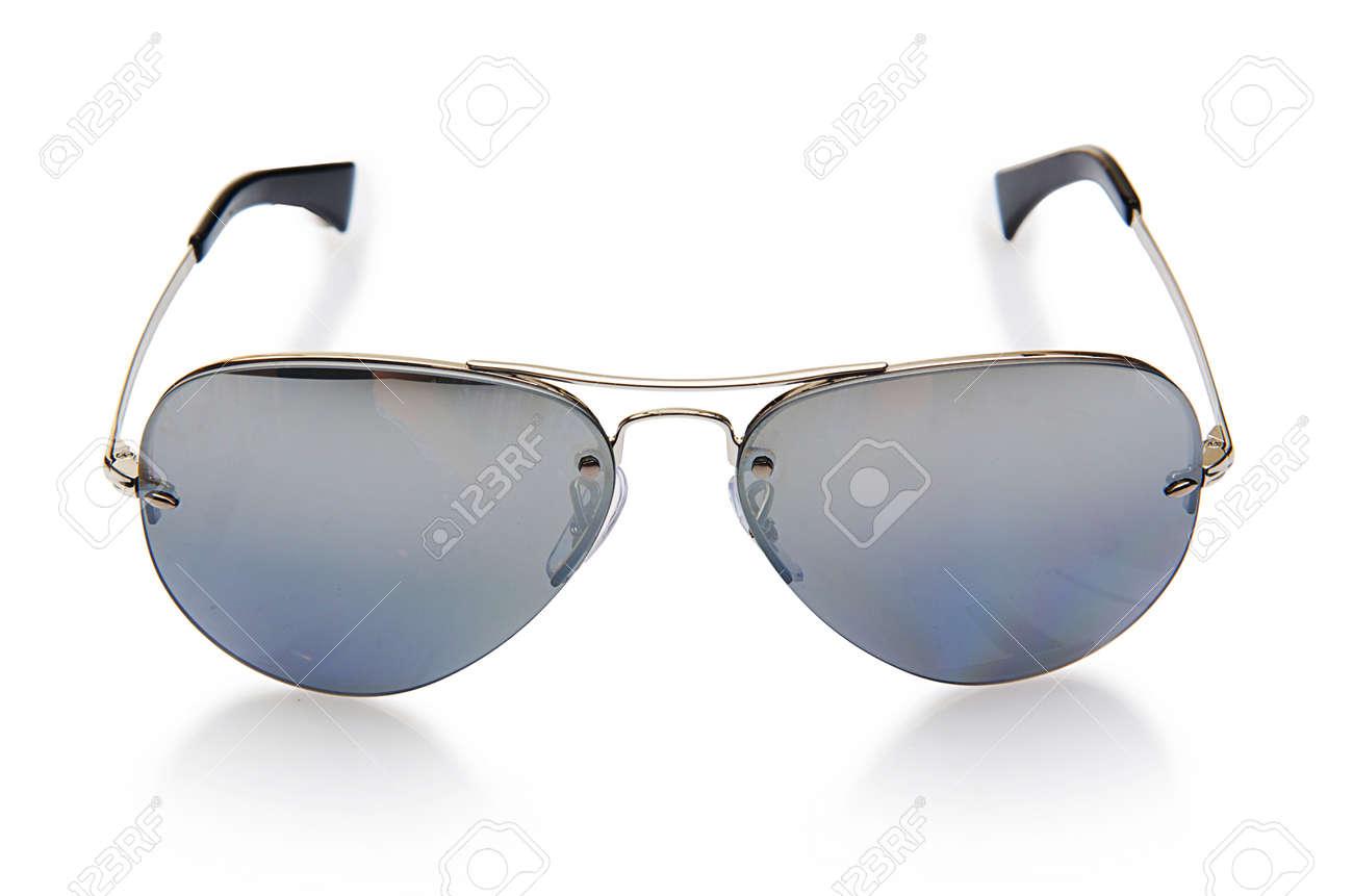 Elegant sunglasses isolated on the white Stock Photo - 18314042