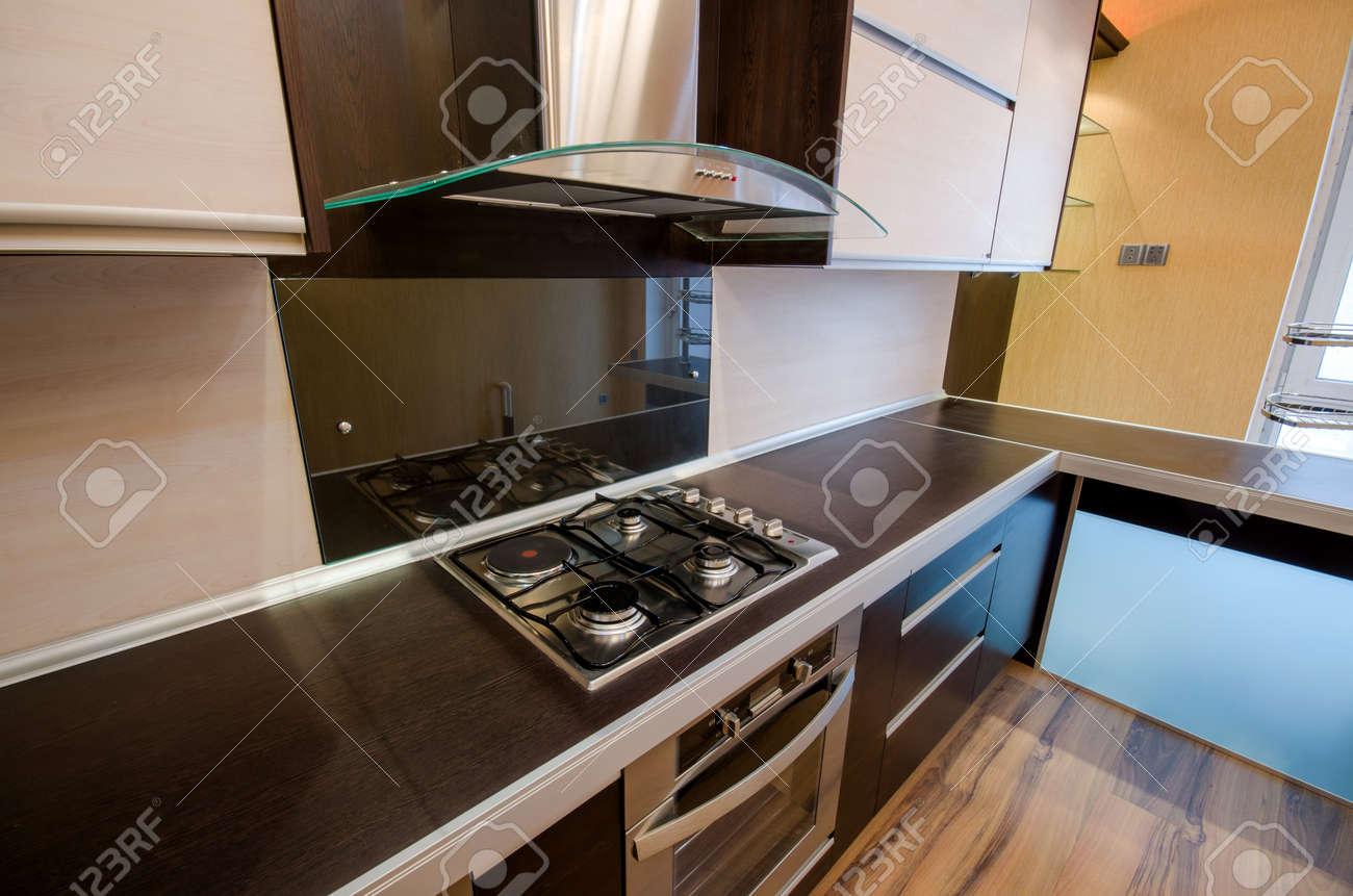 Interior of modern kitchen Stock Photo - 18615121