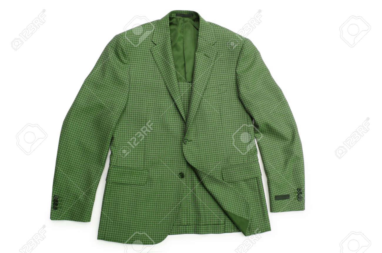 Jacket isolated on the white background Stock Photo - 19013114