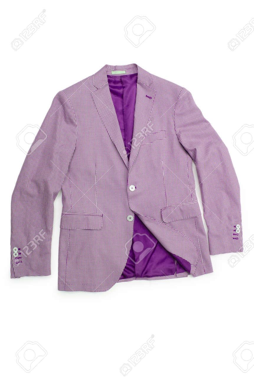Jacket isolated on the white background Stock Photo - 19013121