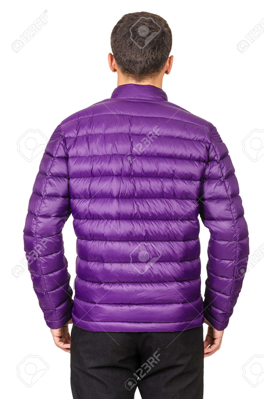 Male coat isolated on the white Stock Photo - 19039615