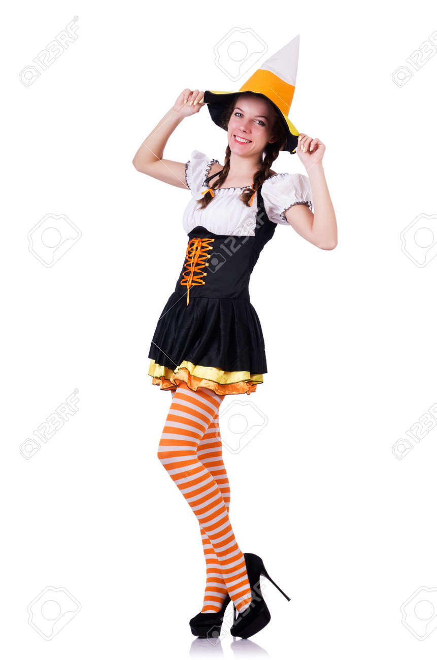Young woman in traditional german costume Stock Photo - 20083256