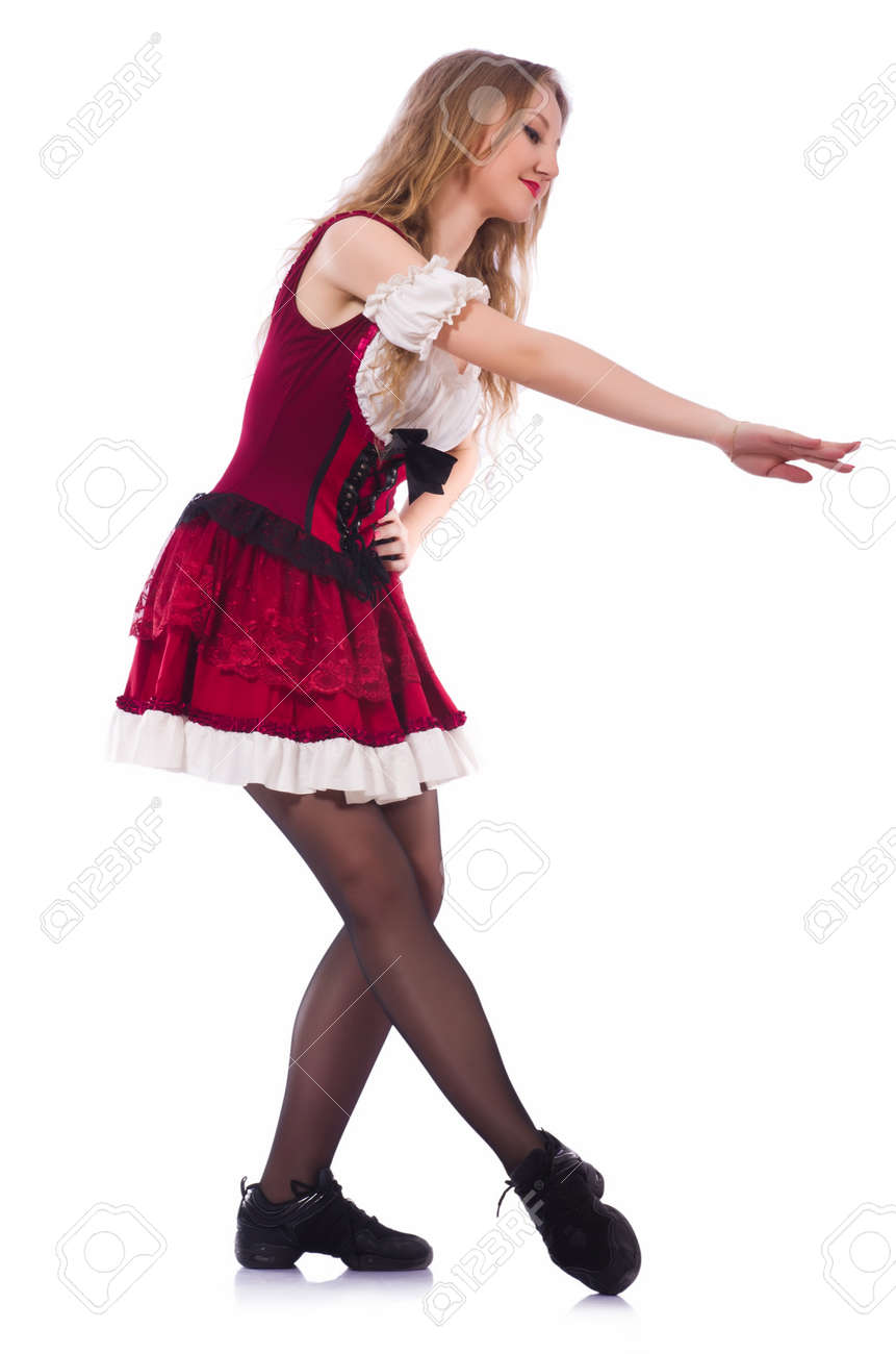 German girl in traditional festival clothing Stock Photo - 19512725