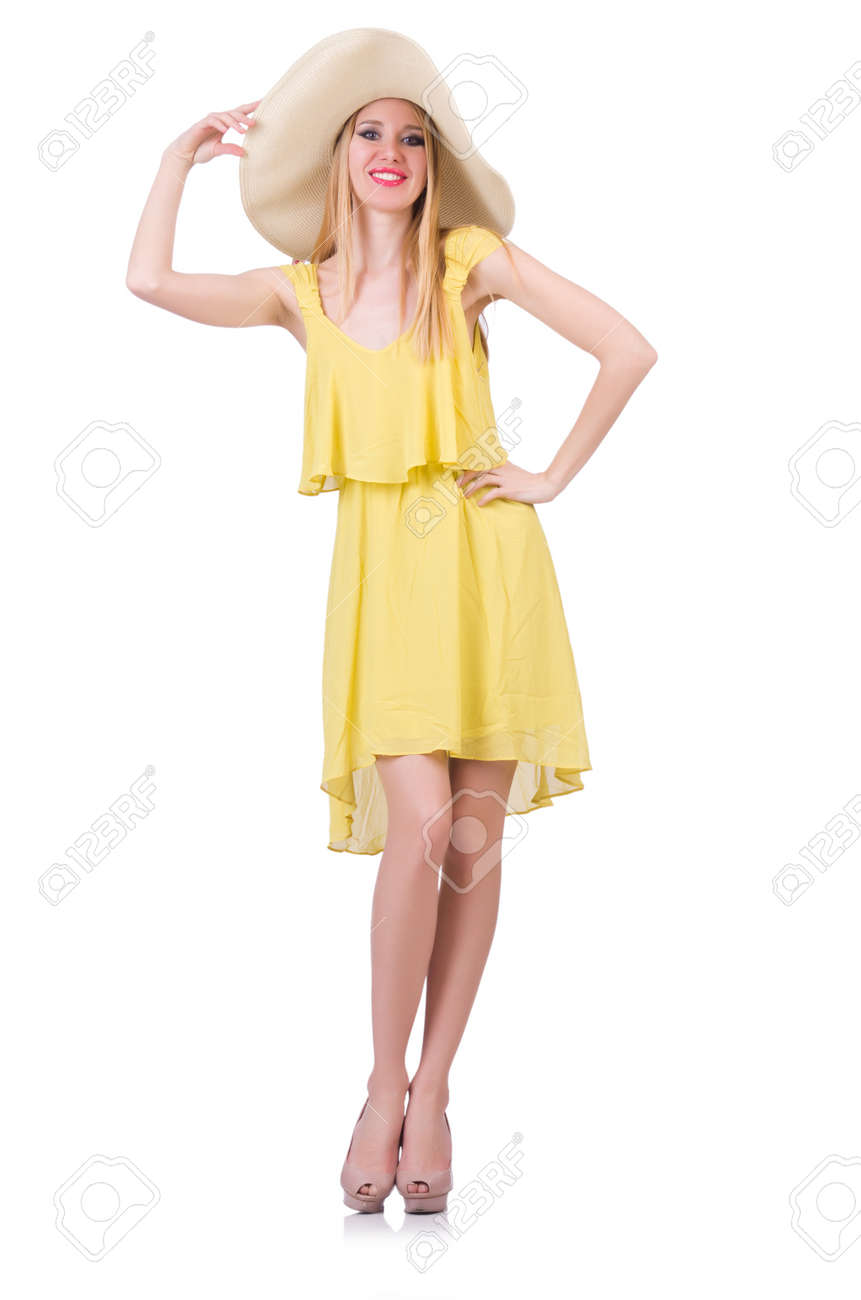 Young woman in summer clothing Stock Photo - 21086485