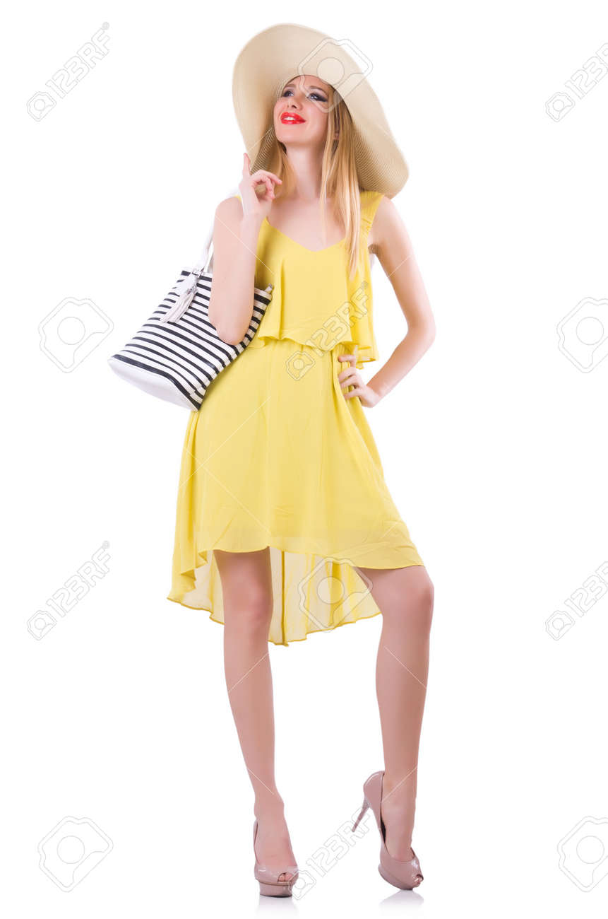 Young woman in summer clothing Stock Photo - 21058558