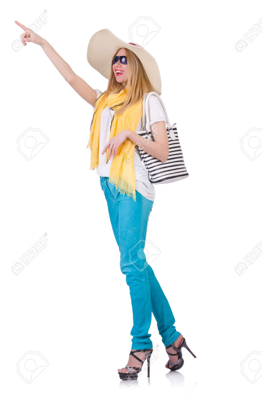 Young woman in summer clothing Stock Photo - 21058706