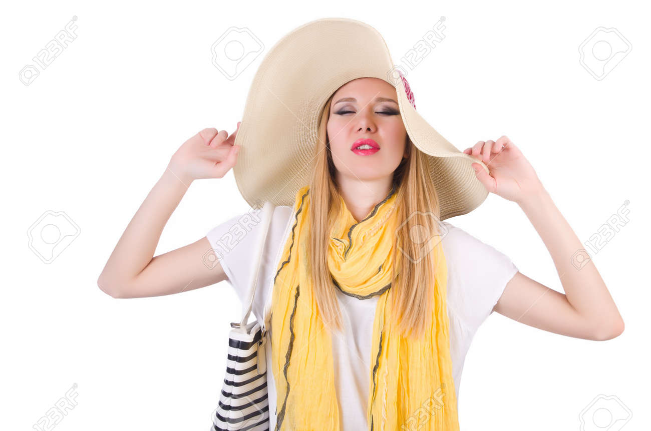Young attractive woman ready for summer vacation Stock Photo - 20080584