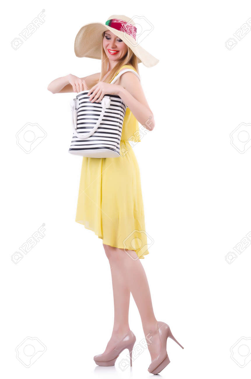 Young attractive woman ready for summer vacation Stock Photo - 20080511