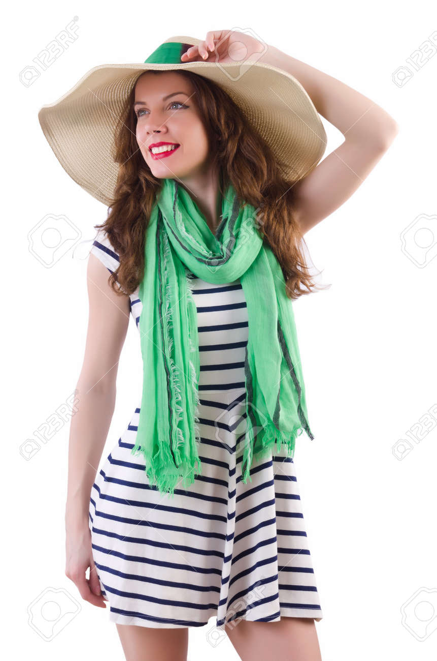 Young woman in summer concept Stock Photo - 21087008