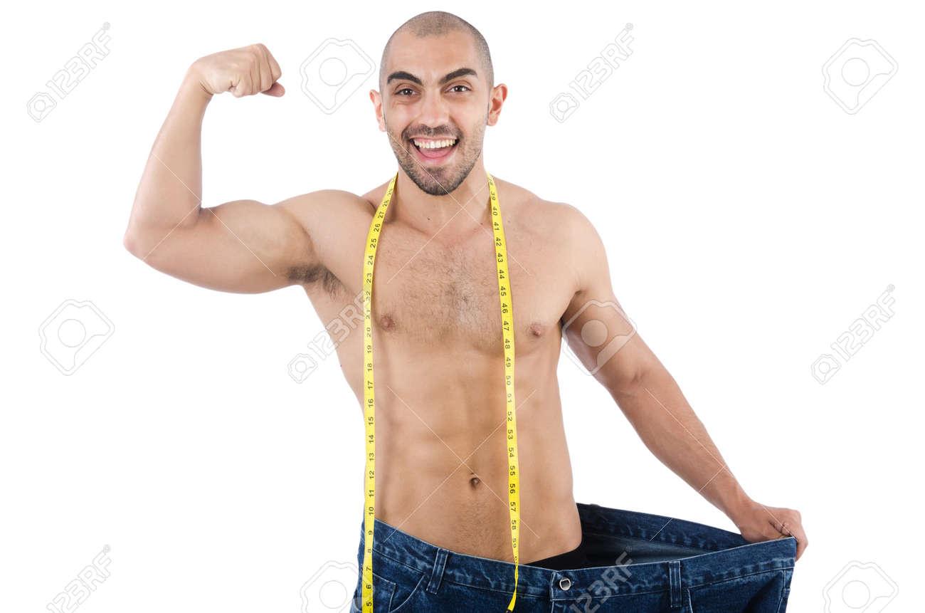 immagini uomo a dieta