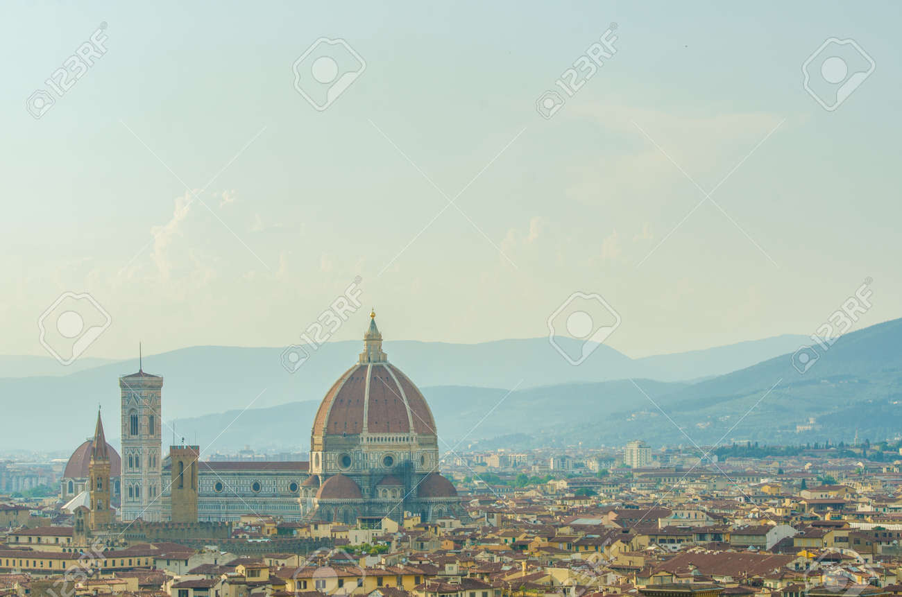 View of florence during the day Stock Photo - 22872813