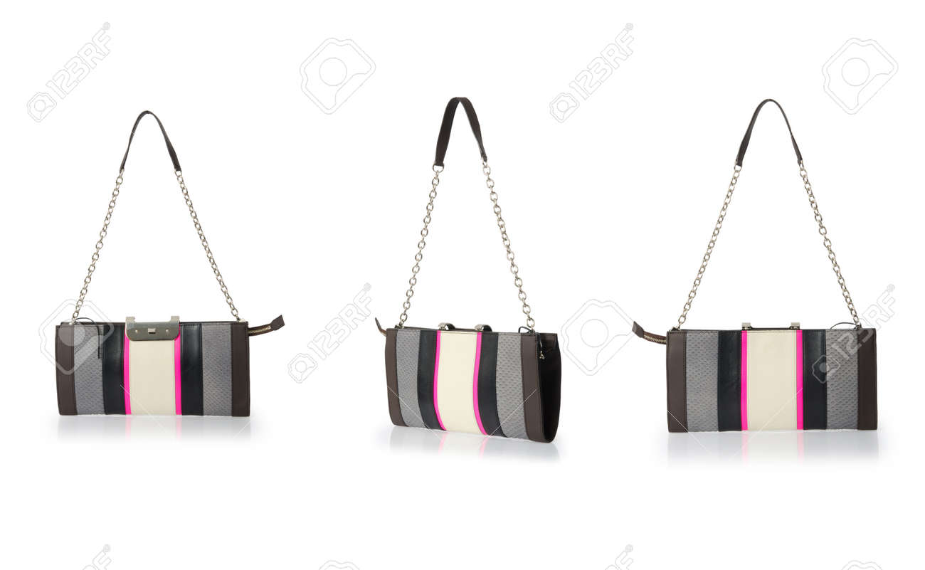 Woman bag isolated on the white Stock Photo - 23551552