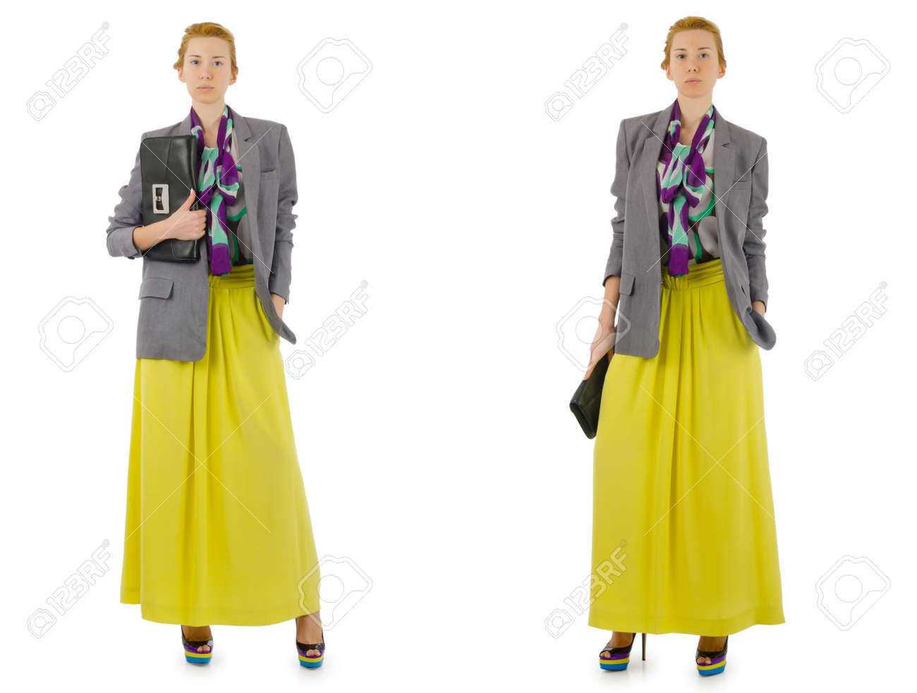 Woman fashion concept isolated on white Stock Photo - 26968126