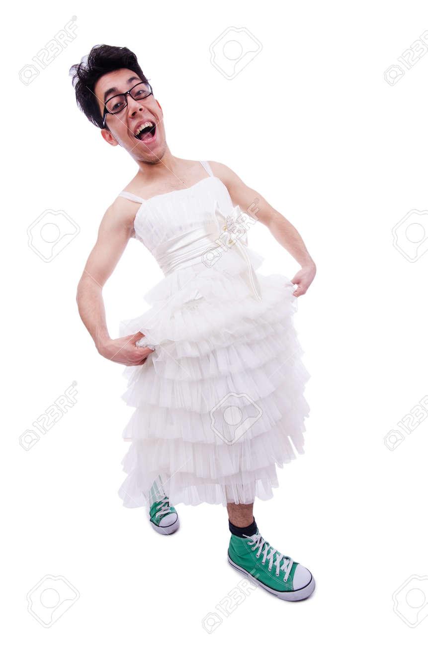 Funny White Dress